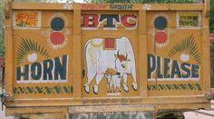 indian truck art font - Google Search