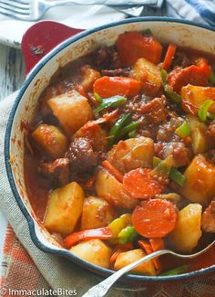 African Stewed Potatoes