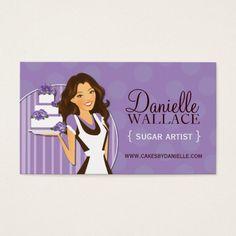 Sugar Artist Business Cards