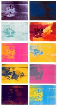andy warhol /// electric chair
