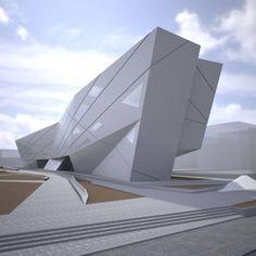 Contemporary architecture   University of Seville Library  www.bocadolobo.com   #contemporaryarchitecture #modernarchitecture
