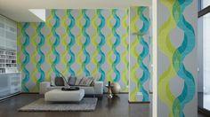 Lars Contzen Tapete 956503; simuliert auf der Wand