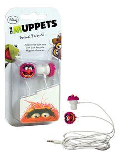 Muppet earbuds - Animal