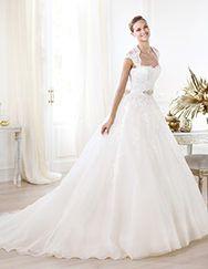 Pronovias te presenta el vestido de novia Leozza. Glamour 2014. | Pronovias