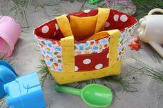 KIDSTASCHEN-FREEBOOK: Kleine Kindergartentasche nähen