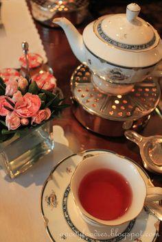 Raspberry Royal Ronnefeldt Tea - Afternoon Tea @ The Lobby Lounge, The Ritz-Carlton KL