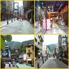 Furcsa helyek - bevasarlas andorra la vella montage Andorra, Street View