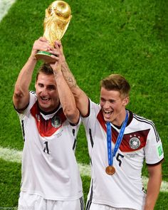 Miroslav Klose & Erik Durm 2014 World Cup 8x10 Photo Germany #Germany