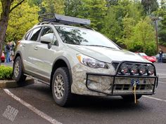 Subcompact Culture - The small car blog: The Primitive Racing Subaru XV Crosstrek subcompactculture.com