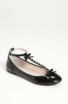 RED Valentino T-Strap Flat available at #Nordstrom