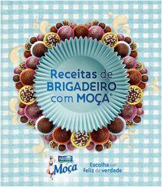 Receitas de Brigadeiro Livro virtual com várias receitas e dicas. Além dos tradicionais, tem o brigadeiro oriental (gengibre) e de café com nozes.