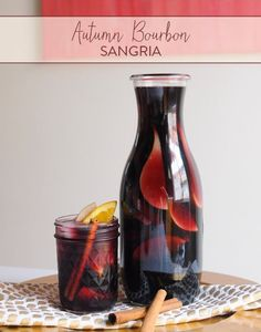 Do you live in a warm area that gets warmer with the change of season? Not everyone gets brisk mornings and falling leaves, so we have this Autumn Sangria that will bring the taste of fall to your warm afternoon on the patio.  Ingredients: 1 bottle Malbec wine (or another full bodied red) 1/2 cup bourbon whisky 1/2 cup pure apple juice 1/2 apple, sliced 1/2 orange, sliced 1 plum, sliced (juicy and fully ripe) 1/2 pear, sliced (juicy and fully ripe) 1 cinnamon stick  Directions: Cut all your…