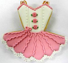Flour Box Bakery — Ballerina Tutu Cookie Favor