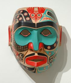 Shaman Octopus Mask by Shawn Karpes, Kwakwaka'wakw artist (W70302)