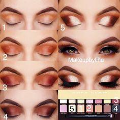 Shimmer Smokey Eyes Tutorial ★ Seeking some inspiration on makeup f Hazel Eye Makeup, Eye Makeup Steps, Eye Makeup Remover, Hazel Eyes, Smokey Eye Makeup, Eyeshadow Makeup, Makeup Tips, Eyeliner, Sfx Makeup