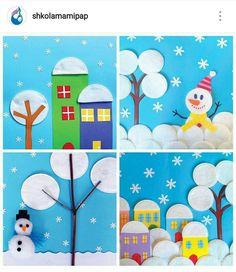 Preschool Christmas Crafts, Christmas Arts And Crafts, Santa Crafts, Christmas Crafts For Kids To Make, Fun Crafts For Kids, Xmas Crafts, Fall Paper Crafts, Preschool Art Activities, Envelopes