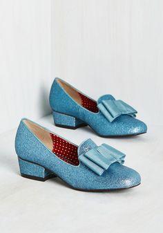 Paris, Prance Heel in Bleu, @ModCloth