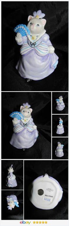Kitty Cucumber Cinderella Haughty Stepmother Miss Fish Schmid 1990 Figurine Cat