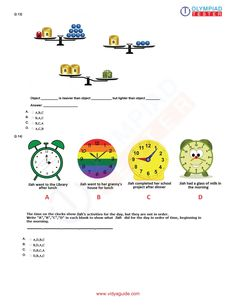 Olympiadtester for Class 1 Maths Olympiad preparation Worksheets For Class 1, Mental Maths Worksheets, Grammar Worksheets, Kindergarten Worksheets, Olympiad Exam, Math Olympiad, Sample Question Paper, Sample Paper, Class 1 Maths