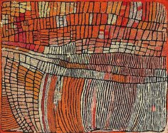Naata Nungurrayi // Marrapinti 2003 // Synthetic polymer paint on linen, 122 x 153 cm. Aboriginal Painting, Aboriginal Artists, Dot Painting, Aboriginal Patterns, Encaustic Painting, Indigenous Australian Art, Indigenous Art, Tachisme, Kunst Der Aborigines