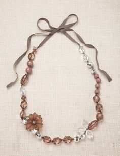 Jewel Flower Necklace