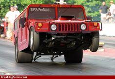 Drag Hummer H1 SICK!!!!