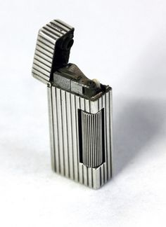 Dunhill Sterling Silver Mini Automatic Rollalite Lighter 4 x USA Patents C 1938 | eBay
