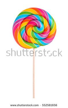 Colorful rainbow lollipop swirl on wooden stick isolated on white background Rainbow Cake Pops, Rainbow Lollipops, Swirl Lollipops, Rainbow Candy, Rainbow Cartoon, Rainbow Png, Rainbow Swirl, Rainbow Colors, Rainbow Things