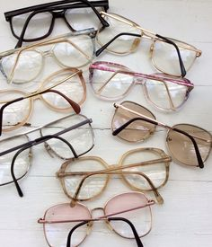 82befd77e642 Giant Lot of Vintage Oversized Eyeglasses