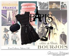 #Paris is such an inspiration for your night out look! http://gresso.tumblr.com/