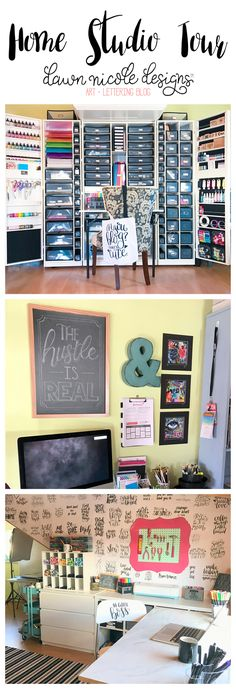 Home Studio + Craft Room Tour