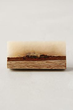 Frosted Timber Knob - anthropologie.com