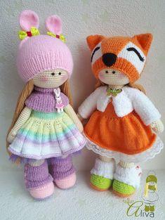 Crochet Toys Design handmade toys crochet doll handmade doll Doll to order - Knitted Dolls, Crochet Dolls, Crochet Doll Pattern, Fabric Dolls, Rag Dolls, Diy Doll, Cute Crochet, Amigurumi Doll, Handmade Toys