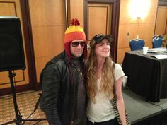 """Michael Rooker in a Jayne hat.... """"A man walks down the street in that hat, people know he's not afraid of anything."""""""