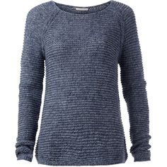 Tommy Hilfiger Basic Twisted Sweater ($44) ❤ liked on Polyvore featuring tops, sweaters, shirts, long sleeves, 10. tops., navy, clearance, lightweight long sleeve shirt, blue sweater and tommy hilfiger sweater