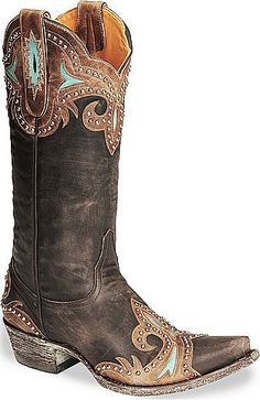 Womens Old Gringo Taka Boot This style boot can go with just about anything!