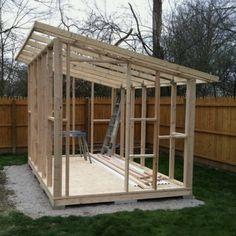 Diy Storage Shed, Backyard Storage, Backyard Sheds, Backyard Patio Designs, Pergola Patio, Bbq Shed, Workshop Shed, Studio Shed, Modern Shed
