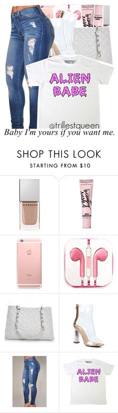 """""""10-07-2016."""" by trillestqueen ❤ liked on Polyvore featuring Givenchy, Beauty Rush, PhunkeeTree and Chanel"""
