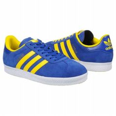 Adidas Gazelle Trainers 2 - Blue/Yellow