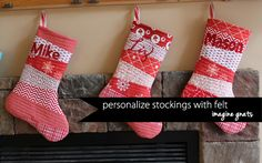 More than 20 Free Christmas Stocking patterns. Learn how to make cute and simple Christmas stockings with these free sewing patterns. Christmas Stocking Pattern, Christmas Sewing, Christmas Projects, Christmas Stockings, Christmas Ideas, Christmas Stuff, Diy Stockings, Holiday Fun, Holiday Ideas