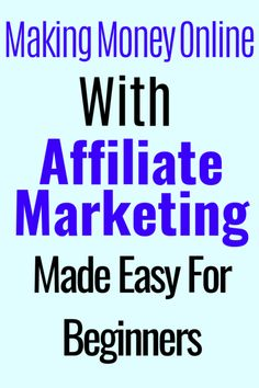 what's the best way to make money with affiliate marketing? promote the right products to the right audience,write high quality low competition keywords so you rank high on the search engines. Making Incomes from online & affiliate marketing Make Money From Home, Way To Make Money, Make Money Online, Money Fast, Earn Money, Affiliate Marketing, Email Marketing, Content Marketing, Internet Marketing