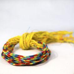 Yellow Live Italy Wrap Bracelet