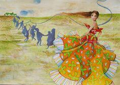 Illustrations By Sofia Papathanasi-vgontza, Via Behance