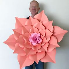 Our GIGANTIC 40 inches Rosa Mystica. Part of our enchanting Paper Flower collections