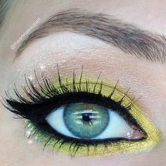 Disney princess makeup Tinkerbell by iheartmakeupart on Makeup Geek