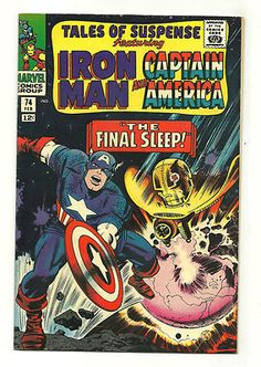 TALES OF SUSPENSE #74 Classic Silver Age cover by Jack Kirby! GRADE 7.0  http://r.ebay.com/x005ol
