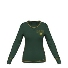 Majestic Green Bay Packers Speed Rules III Cool Base Top - Women's