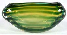 Leerdam art glass vase Floris Meydam