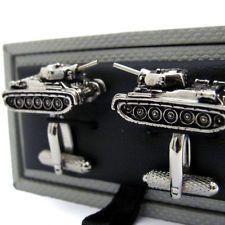 Tank Army Cufflinks