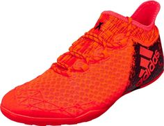 check out ba329 a65d5 adidas X 16.1 Court – Solar Red Black Adidas Cleats, Soccer Cleats, Adidas